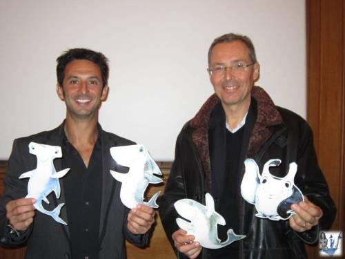Pierre Frolla et  Robert Calcagno